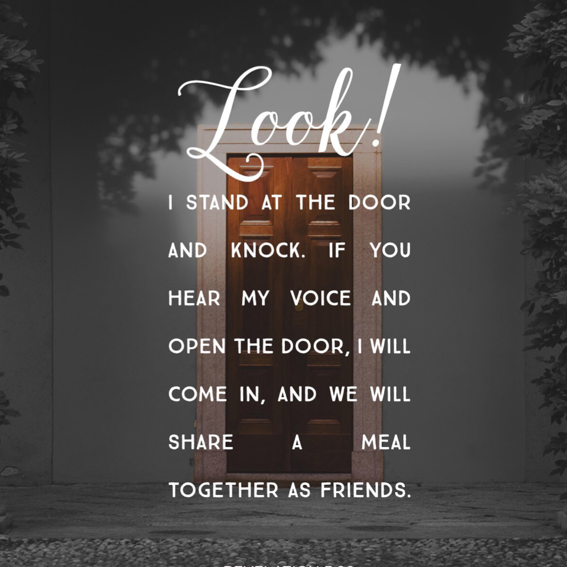 I stand at the door and knock. & Jesus dream door - Team Expansion